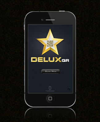 DeluxQR Scan Screen