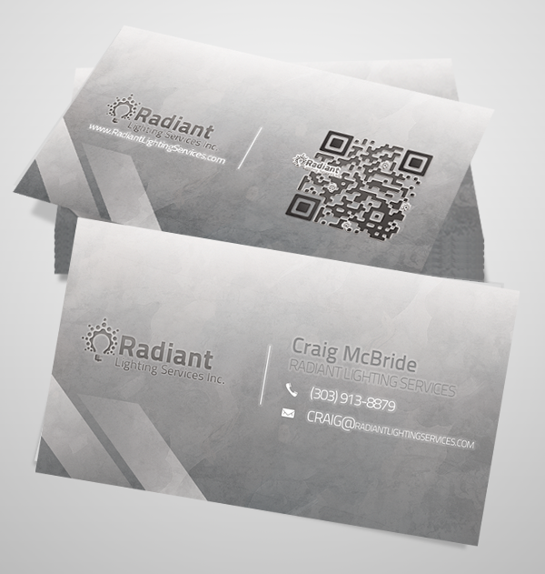 QR Code Business Card Set - rl