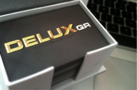 DeluxQR Business Cards