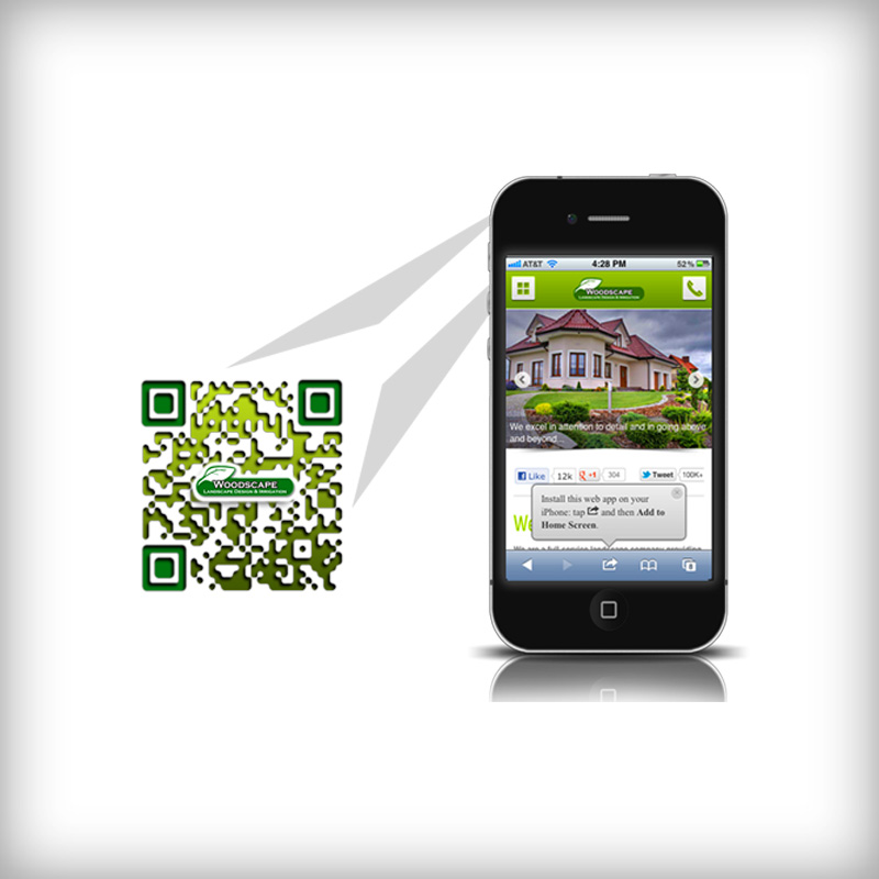 Mobile Landing Page and Custom QR