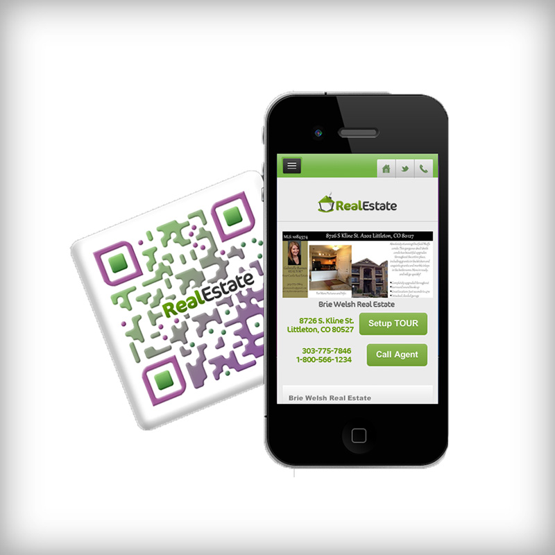 Real Estate QR Code Landing Page