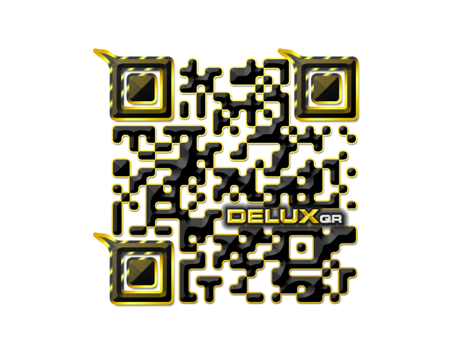 Black and Yellow DeluxQR