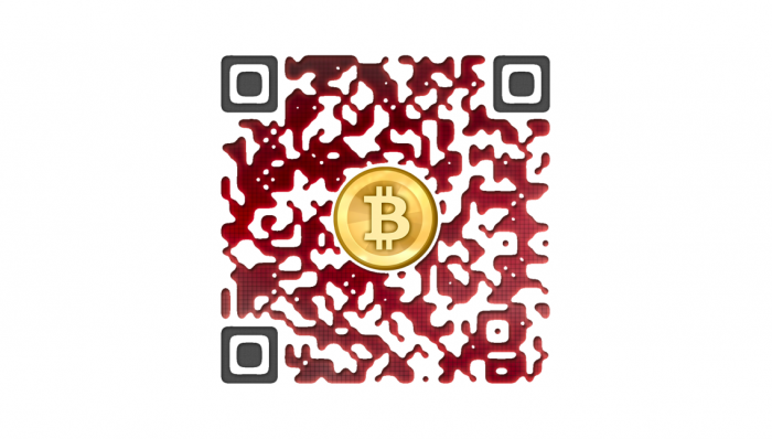 Red Bitcoin Wallet QR