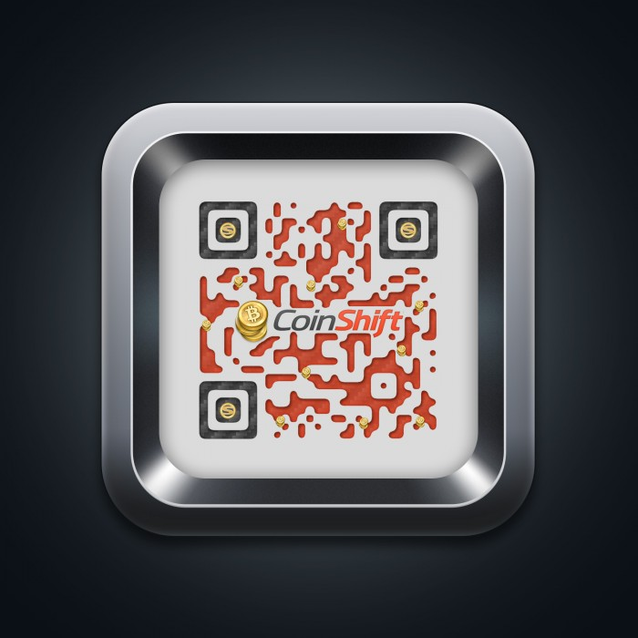 CoinShift QR with App Icon